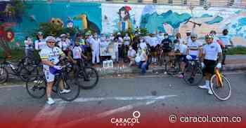 VIDEO: Plantón para exigir justicia por ciclista fallecido - Caracol Radio