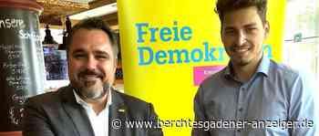 Wahlkampfauftakt der FDP in Freilassing: »Grüne Technologien voranbringen« - Berchtesgadener Anzeiger