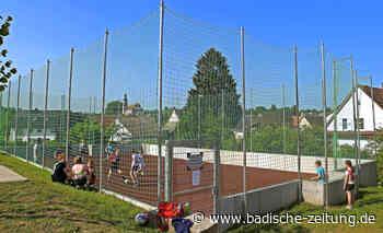 Kleinspielfeld am Gymnasium eingeweiht - Ettenheim - Badische Zeitung