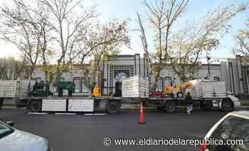 Con nuevo equipamiento, Villa Mercedes duplica la producción de ladrillos blocks - El Diario de la República