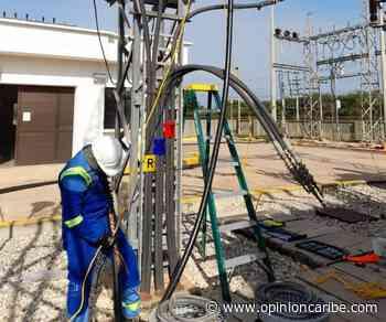 Trabajos eléctricos en municipios de la subregión del Río - Opinion Caribe