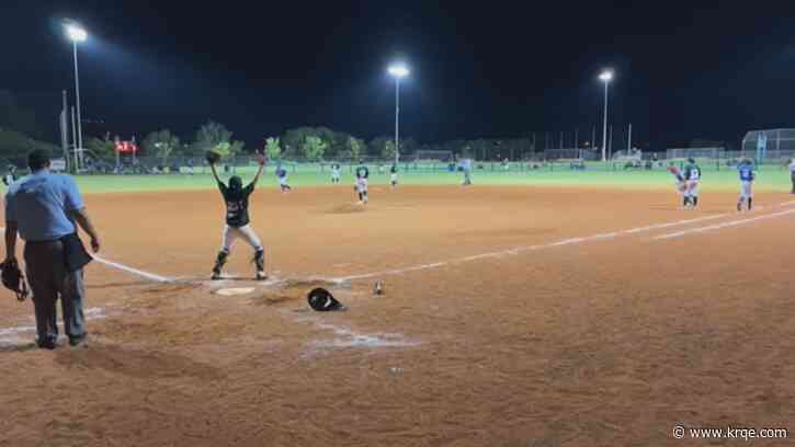 Sunset Little League heading to regionals in Waco