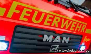 Feuer in Freilufthalle in Rübenau ausgebrochen - Freie Presse