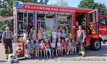 Die Feuerwehr besuchte den Kindergarten - Region Kelheim - Nachrichten - Mittelbayerische
