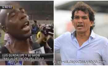 """Franco Navarro emuló al 'Cuto' Guadalupe tras triunfo: """"La fe es lo más lindo de la vida"""" - Yahoo Deportes"""