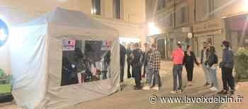 Bourg-en-Bresse - Le Chill club installe une tente pour tester ses clients à la Covid-19 - La Voix de l'Ain