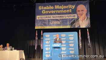 Tasmanian Liberal party held 2021 state conference on Saturday - The Examiner