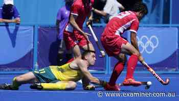 Tokyo Olympics: Eddie Ockenden helps Kookaburras make winning start - Tasmania Examiner