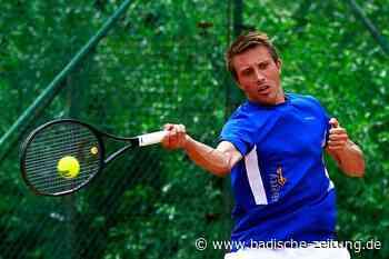 Für Bastian Bross aus Waldkirch geht's mit Kampfgeist steil aufwärts - Tennis - Badische Zeitung