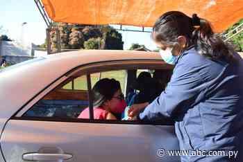 Jornada tranquila de vacunación en Carapeguá - Nacionales - ABC Color
