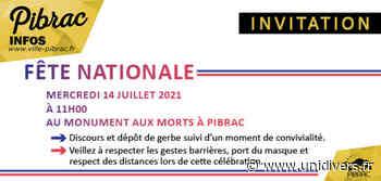 Fête nationale - Mercredi 14 juillet Esplanade Sainte Germaine - Unidivers