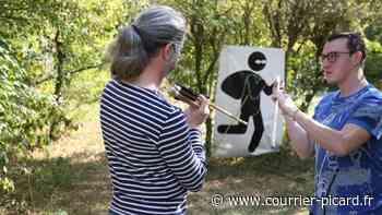 Un championnat européen de tir aux armes préhistoriques à Amiens - Le Courrier picard