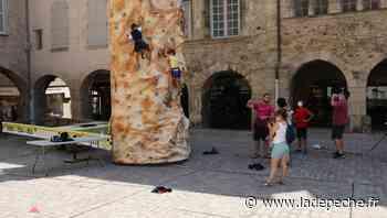 Villefranche-de-Rouergue : les animations sportives pour les jeunes sont en cœur de ville - LaDepeche.fr