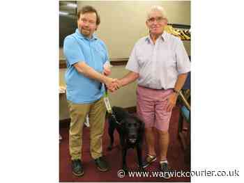 Warwick Rotarians celebrate being able to meet face to face after 16 months of online meetings - Warwick Courier