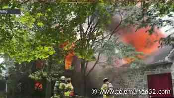 Familia permanece hospitalizada tras pavoroso incendio residencial - Telemundo 62