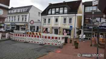 Dritter Bauabschnitt: Uetersen: Vollsperrung von der Denkmalstraße bis in den Großen Sand | shz.de - shz.de