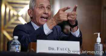 Fauci: 'There's no way' the coronavirus was made with U.S. research funds. Here's why - Los Angeles Times