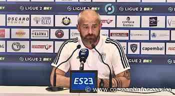 """VIDEO - Mathieu Chabert (SC Bastia) : """"les bases sont là, c'est le plus important"""" - Corse Net Infos"""