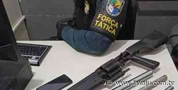 Tático desativa uma fábrica de armas caseiras no Santa Maria - Fax Aju