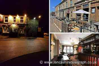 Five pub and bar businesses for sale in East Lancashire