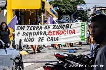 Veja fotos do protesto contra Bolsonaro em União dos Palmares - BR 104
