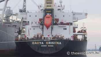 Coronavirus WA: COVID fears as cargo ship Darya Krishna with sick crew members arrives off Kalbarri - The West Australian