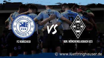 Benefizspiel: FC Remscheid gegen Borussia Mönchengladbach U23 - Lüttringhauser