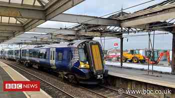 Troon railway station to reopen to passengers after fire