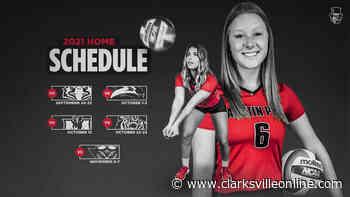 Austin Peay State University Volleyball releases 2021 Fall Schedule - Clarksville, TN Online - Clarksville Online