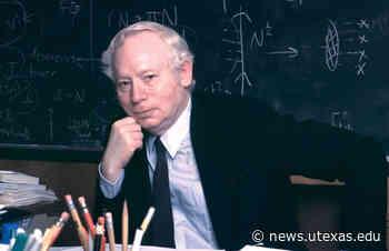 UT Austin Mourns Death of World-Renowned Physicist Steven Weinberg - UT News - UT News   The University of Texas at Austin