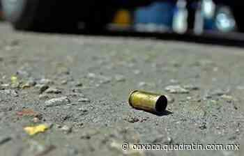 Murió el mototaxista que balearon en Pueblo Nuevo - Quadratín Oaxaca