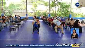 Residentes de Pueblo Nuevo acuden a vacunación masiva por barrido - TVN Panamá
