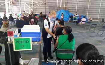 Se cumple meta en el primer día de vacunación en Pueblo Nuevo - El Sol de Irapuato