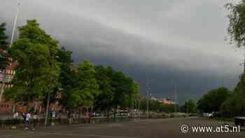 Code geel: zondagmiddag kans op regen en onweer in de stad - AT5