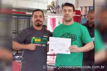 Pomerodense conclui curso para instrutor de Boxe - Jornal de Pomerode