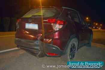 Carro e moto se envolvem em colisão, na SC-110 - Jornal de Pomerode