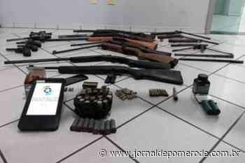 PM apreende grande quantidade de armas em residência - Jornal de Pomerode