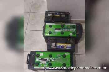 Polícia recupera objetos furtados, em Pomerode - Jornal de Pomerode