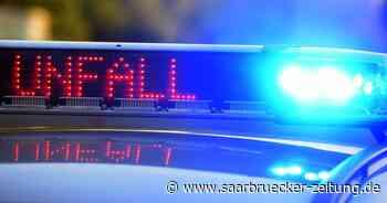 Unfall in Homburg am Freitagnachmittag: ein Verletzter - Saarbrücker Zeitung
