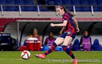 USWNT rights ship in rout of New Zealand - Grand Forks Herald