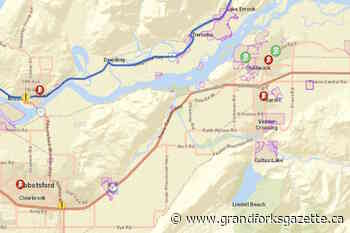Chilliwack near capacity for accommodating displaced wildfire evacuees – Grand Forks Gazette - Grand Forks Gazette