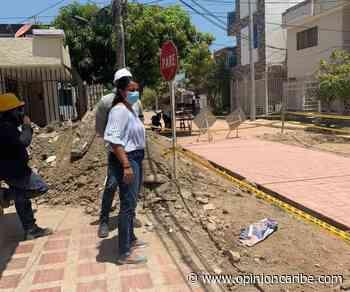 Continúan la supervisión de trabajos en Ciénaga - Opinion Caribe
