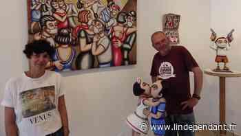 Port-Vendres : les Pritchard's exposent à la galerie du Pavillon des arts - L'Indépendant