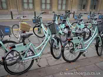 Worthing and Adur want bikeshare scheme west of Brighton