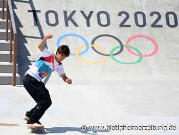 Sommerspiele in Tokio: Japaner Horigome gewinnt Skateboard-Premiere bei Olympia - Bietigheimer Zeitung