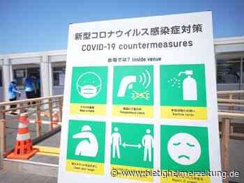 Sommerspiele in Tokio: Zehn weitere Corona-Fälle im Olympia-Umfeld - Bietigheimer Zeitung