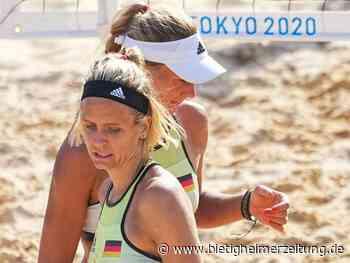 Olympische Spiele: Beachvolleyballerinnen mit Niederlagen zum Start - Bietigheim-Bissingen - Bietigheimer Zeitung
