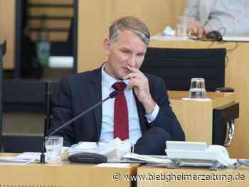 Thüringer Landtag: AfD scheitert mit Misstrauensvotum gegen Bodo Ramelow - Bietigheimer Zeitung