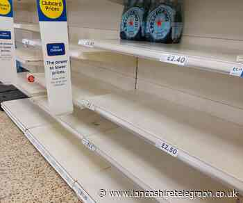 Where have all the water bottles gone? Supply shortages lead to bare shelves