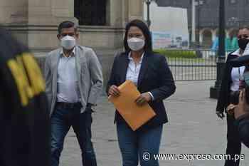 Keiko Fujimori presentará demanda de acción de amparo ante el TC - Expreso (Perú)